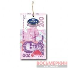 Ароматизатор Mr.Fresh Валюта Гривня Клубника